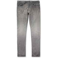 The Cast 2 Slim-fit Tapered Distressed Denim Jeans John Elliott + Co xKUYhQd