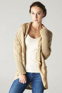 Sina Crochet Knit Sweater.