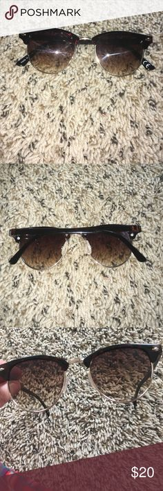 Pretty slightly cat eye round sunglasses Pretty! Urban Outfitters Accessories