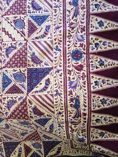 Patch work batik cirebon 1950 btik tambal