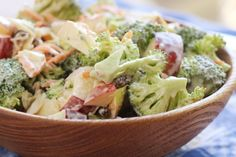 Delicious Broccoli Apple Salad Will Keep In Your Fridge