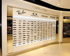 OP36 Modern Fashion Sunglass Display Case