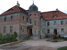 Pałac w Burkatowie - Pałac Burkatów - - Dolny Śląsk