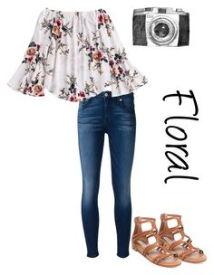 """Tomorrow is my last day of school!"" by lanie6115 ❤ liked on Polyvore featuring 7 For All Mankind and Steve Madden"