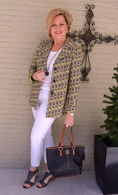 50 Is Not Old | White on White | Spring/Summer Outfit | Fashion over 40 for the everyday woman
