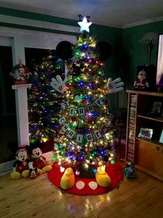 Mickey tree...love it