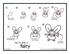 Drawing fairies learning pinterest fairy drawings for How to draw a cartoon fairy