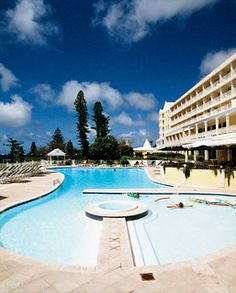 Poolside at Elbow Beach Hotel, Bermuda.  Have stayed here twice! Let's make three! Very soon! Love Bermuda and Elbow Beach is the perfect place to stay!