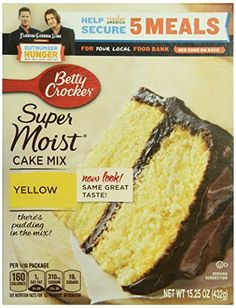 Betty Crocker Yellow Cake Mix 1525 oz * See this great product.