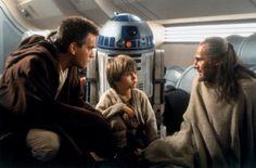 Obi-Wan Kenobi et Anakin Skywalker dans star Wars