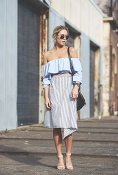 cropped shoulder to shoulder, ombro a ombro, blue, azul, looks para se inspirar, inspiration , looks, outfits, style, street style, estilo , fashion, moda