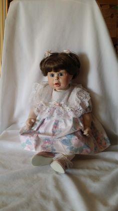 "Haunted Doll ~ 22"" Dehetre Reproduction Porcelain Doll ""Punkin"" 1987 ~ Active Spirit, Paranormal Activity by FugitiveKatCreations on Etsy"