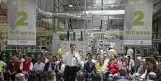 Celebra EPN cifra histórica de empleos en México