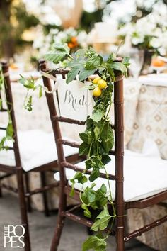 Wedding+Wednesday+::+Chairs+with+Flowers