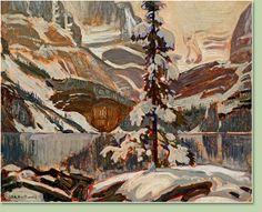 Lake O'Hara with Snow, n.d. James Edward Hervey Macdonald  Canadian (1873-1932)