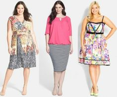 Spring Summer 2014 Plus Size Fashion Trends – Tribal, Floral, and Stripe Prints