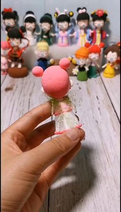 Polymer Clay Dolls, Polymer Clay Crafts, Diy Clay, Diy Crafts Hacks, Diy And Crafts, Paper Crafts, Diy For Kids, Crafts For Kids, Fondant Flower Tutorial