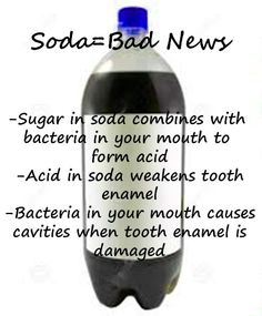 While staying hydrated this Summer-stay away from soda- it equals bad news!!!! Dr. Marc E. Goldenberg, Dr. Kate M. Pierce, and Dr. Matthew S. Applebaum Pediatric Dental Office Greensboro, NC