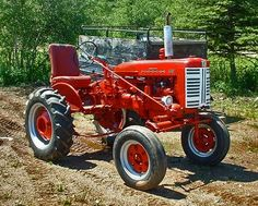 1958 Farmall Model 130 Tractor for #agriculture and #farming