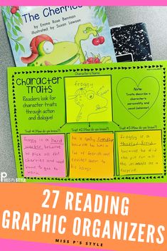 Reading Graphic OrganizersYou can find Readers workshop and more on our website. Reading Resources, Reading Strategies, Reading Skills, Writing Activities, Reading Comprehension, 5th Grade Reading, Guided Reading, Teaching Reading, Framed Words
