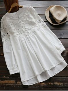 GET $50 NOW | Join RoseGal: Get YOUR $50 NOW!http://www.rosegal.com/long-sleeve-dresses/stand-neck-lace-spliced-high-856046.html?seid=7315397rg856046