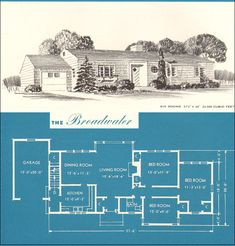 1945 Broadwater - Minimal Traditional Classic - New Era Houses by Brown-Blodgett Co.