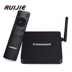 Tronsmart Vega S95X Android 6.0 TV BOX Amlogic S905X Quad Core 2G8G 802.11bgnac 2.4G5G Dual Band Wifi 100Mbps LAN Smart Tv