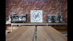 La Marzocco and Wega machines Mazza grinders ready for the classes Coffee Academy, Barista Training, Training Academy, Brewing Tea, Latte Art, Coffee Roasting, Ping Pong Table, Cambridge, Furniture