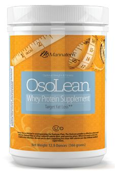 Formulated with advanced whey protein technology, OsoLean powder mixes well in many foods and liquids. When combined with a proper diet and exercise, OsoLean powder:  Enhances fat loss & helps maintain lean muscle
