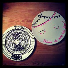 Posca & porcelæn.....