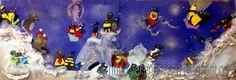 Pinguïn pret - groepswerk Leuke groepsopdracht voor in de winter