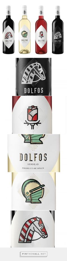 DOLFOS  Wine - Packaging of the World - Creative Package Design Gallery - http://www.packagingoftheworld.com/2018/01/dolfos.html