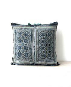 Hey, I found this really awesome Etsy listing at https://www.etsy.com/listing/227647592/hmong-cushion-vintage-hmong-batik