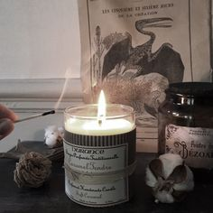 @hellarken on Instagram  Candle by Durance