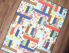 I made a super fun and easy jelly roll quilt over the weekend... Jelly Roll Jam 2!The pattern is...