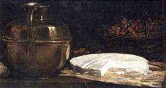 François Bonvin (1817-1887) Nature morte au brie (1863) Musée d'Orsay, Paris