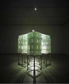 'Home Within Home' - photo sensitive resin - by Do Hu Suh