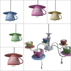 Upcycling mit alten Teetassen