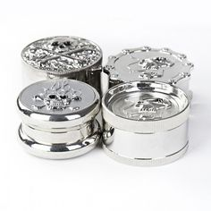 Smoking Skull Herb Grinder