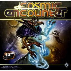 Fantasy Flight Games Cosmic Encounter, Multicolor - Packaging may vary Cosmic Encounter, The Encounter, Planetary System, Dark City, Alien Races, Fun Board Games, Famous Books, Game Workshop, Book Format