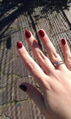 Unghie nails rosse troppo belle
