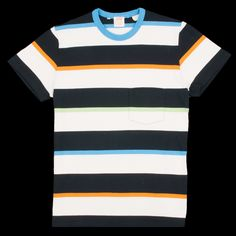Levi's Vintage Clothing - 1960s Casual Stripe Tee in Multi Flavor