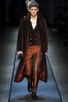 Canali Fall/Winter 2013  great layers, non-specific period, color and sheen