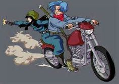 Trunks and Mai - Bing images