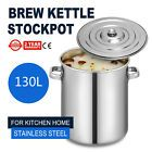Stainless Steel Stock Pot Brewing Beer Kettle Soup Pan Home Use Stockpot for sale online Soup Pan, Beer Soup, Marmite, Beer Brewing, Home Brewing, Pots, Steel Stock