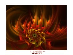 Flor de Fuego by Yenkoff on DeviantArt
