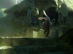 Uei (Lord of the Slugs on deviant art)  http://www.deviantart.com/art/Temple-of-Doom-560424864