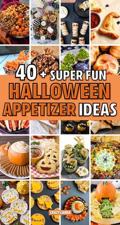 Check out the best Halloween snack and appitezer ideas Need a creative Halloween appetizer idea to bring to the party! Check out these awesome recipe ideas and snacks to make your app perfect! Halloween Pizza, Halloween Snacks, Halloween Party Appetizers, Hallowen Food, Halloween Dinner, Halloween Cupcakes, Easy Halloween, Halloween 2020, Halloween Potluck Ideas