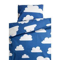 Oopsie Moln Cloud Blue Children's Bed Set (Pram) 70cm x 80cm