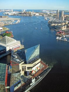 Baltimore harbor- for many a days before or after dropping someone off at the Baltimore Airport and fun day trips :)